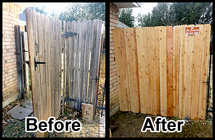 Sacramento fence repair