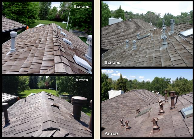 Sacramento shake roof repair