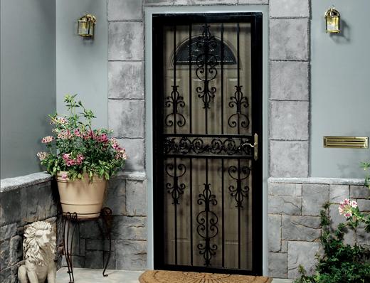 home doors double header door triple image security